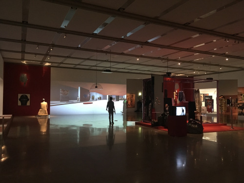 The interactive game art installation Ho... was a part of the exhibition Oh… - Jakob Lena Knebl and the mumok Collection, mumok Wien in 2017.